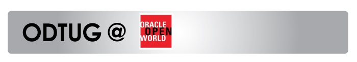 ODTUG AT ORACLE OPENWORLD